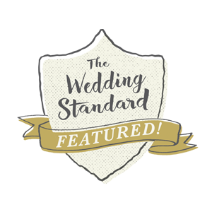 See Our Featured Work on The Wedding Standard